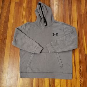 Under Armour Gray Loose Extra Large Pullover Hoodi